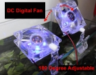 Aquarium Base Digital Fan