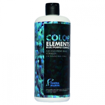 Fauna Marin Color Elements Blue Purple Complex 250ml for shining blue corals