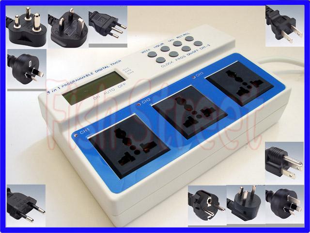 multiprise programmateur capteur photo lectrique. Black Bedroom Furniture Sets. Home Design Ideas