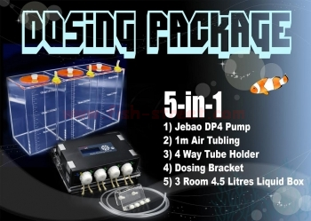 Jebao Dosing Package 5in1 NJ Warehouse