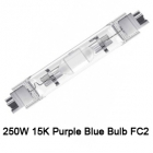 250W 15K Purple Blue Bulb FC2